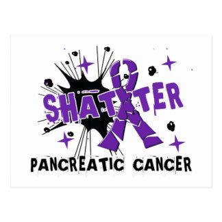 Carte Postale Cancer pancréatique d'éclat