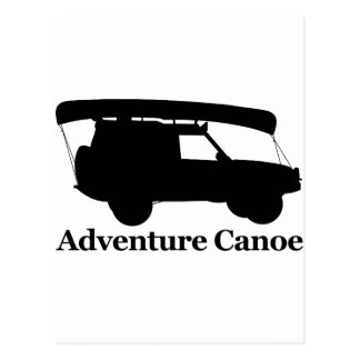 Carte Postale Canoë d'aventure