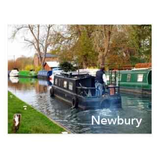 Carte Postale Canotage chez Newbury