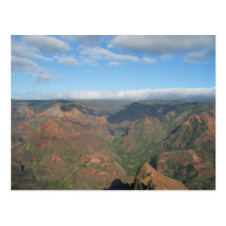 Carte Postale Canyon de Waimea de Kauai