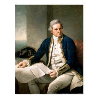 Carte Postale Capitaine James Cook