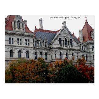 Carte Postale Capitol de l'état de New-York, Albany, NY