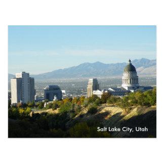 Carte Postale Capitol d'état de l'Utah - Salt Lake City