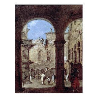 Carte Postale Capriccio architectural, c.1770