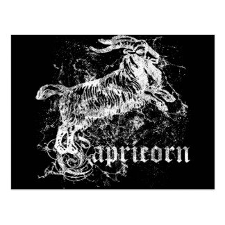 Carte Postale Capricorne de zodiaque