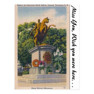 Carte Postale Caracas, Venezuela