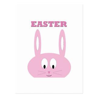 Carte Postale Caractère mignon de lapin de Pâques