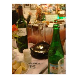 Carte Postale Carafe de vin à Buenos Aires