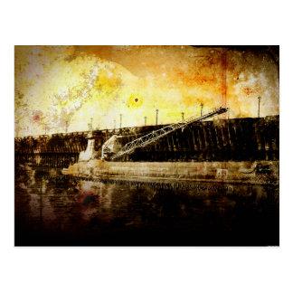 Carte Postale Cargo de minerai de fer