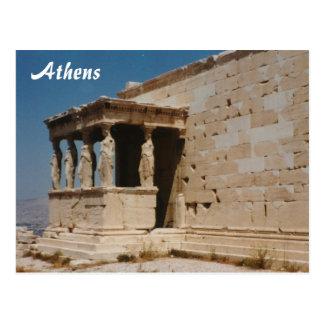 Carte Postale Cariatides - Athènes
