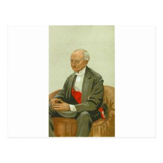 Carte Postale Caricature d'amiral monsieur Hastings Reginald