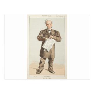 Carte Postale Caricature des hommes d'état No.940 de conseiller