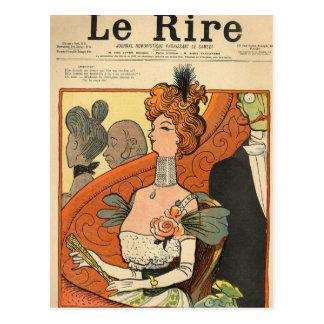 Carte Postale Caricature d'un marquis français