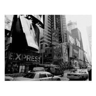 Carte Postale Carré blanc noir de New York Times