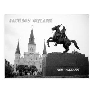 Carte Postale Carré de Jackson, la Nouvelle-Orléans
