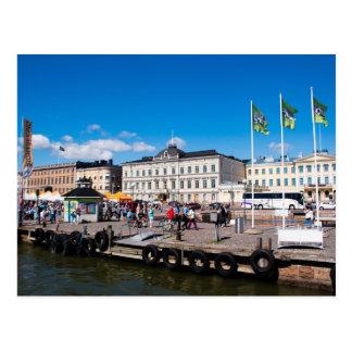 Carte Postale Carré du marché de Helsinki