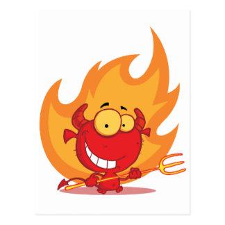 Carte Postale Carrière de sapeur-pompier