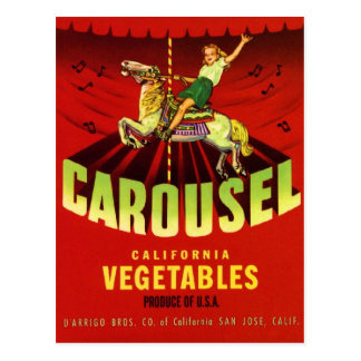 Carte Postale Carrousel