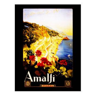 Carte Postale Carte-Cru Voyage-Amalfi