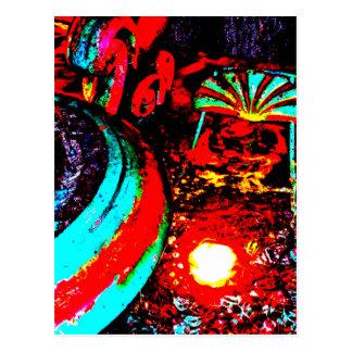 """Carte Postale """"Carte postale d'art de JTG de la fontaine deux de"""