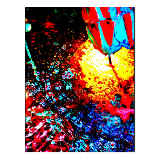"Carte Postale ""Carte postale d'art de JTG de la fontaine une de"