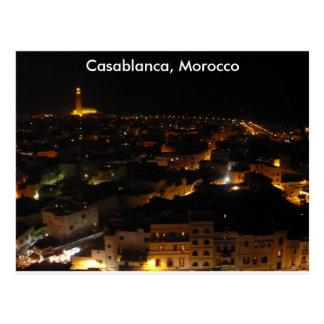 Carte Postale Casablanca, Maroc