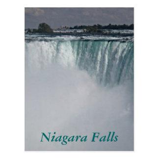 Carte Postale Cascade de chutes du Niagara