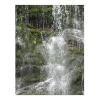 Carte Postale Cascade de descendeur de La en parc national de