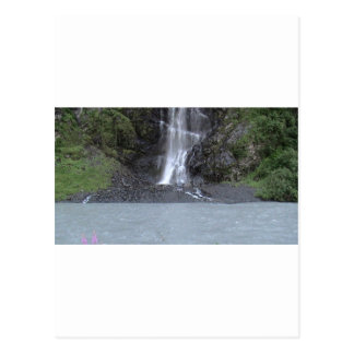 Carte Postale Cascade de glacier