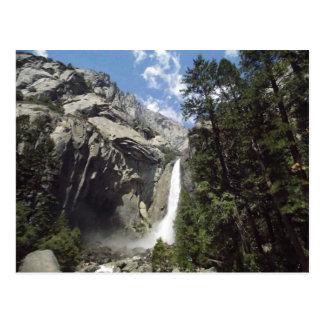 Carte Postale Cascade de Yosemite