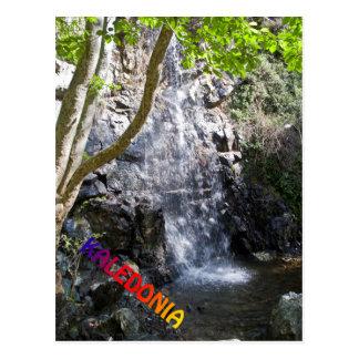 Carte Postale Cascades de Kaledonia chez la Chypre