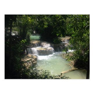 Carte Postale Cascades de Kuang SI