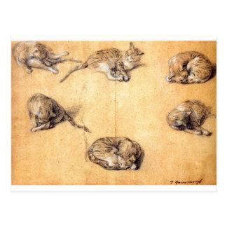 Carte Postale cat-clip-art-8