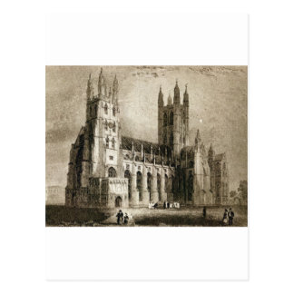 Carte Postale Cathédrale de Cantorbéry