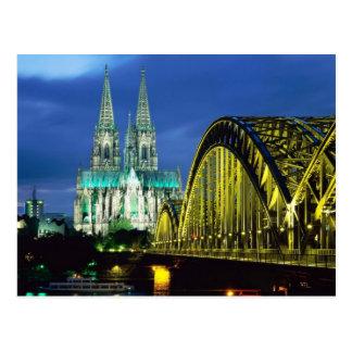 Carte Postale Cathédrale de Cologne