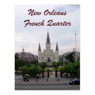 Carte Postale Cathédrale de la Nouvelle-Orléans, Louisiane St