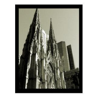 Carte Postale Cathédrale de NYC St Patrick
