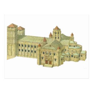Carte Postale Cathédrale romane de Saint-Jacques-de-Compostelle