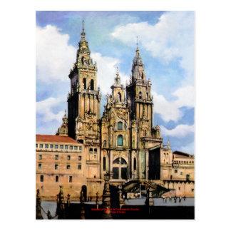 Carte Postale Cathédrale Santiago de Compostela (A La Corogne)