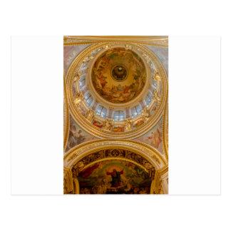 Carte Postale Cathédrale St Petersburg, Russie de St Isaac