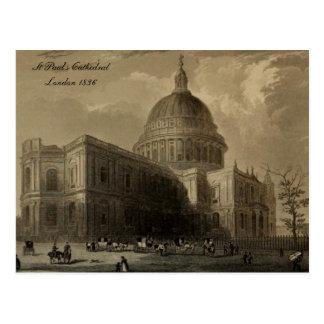 Carte Postale Cathédrales des séries de l'Angleterre : St Paul
