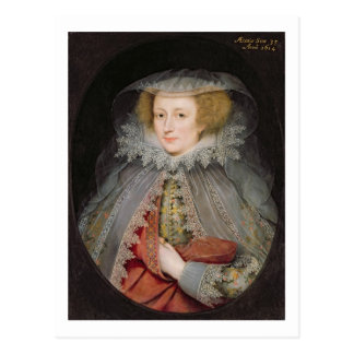 Carte Postale Catherine Killigrew, Madame Jermyn, 1614 (huile