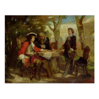 Carte Postale Cavalier et Claude Louis Hector de Jean