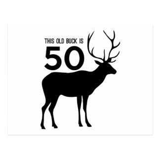 Carte Postale Ce vieux mâle est 50