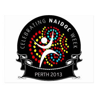 Carte Postale Célébration 2013 de SEMAINE de NAIDOC
