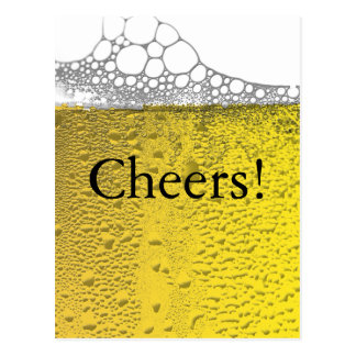 Carte Postale Célébration de bière