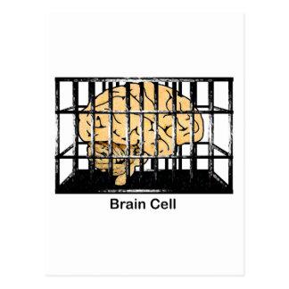 Carte Postale Cellule du cerveau