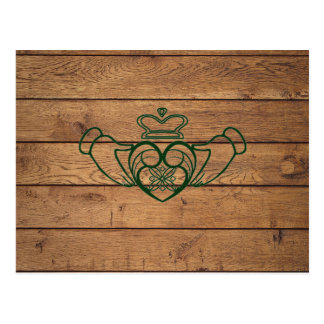 Carte Postale Celtic rustique Claddagh
