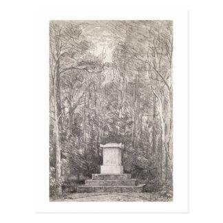 Carte Postale Cénotaphe à monsieur Joshua Reynolds chez