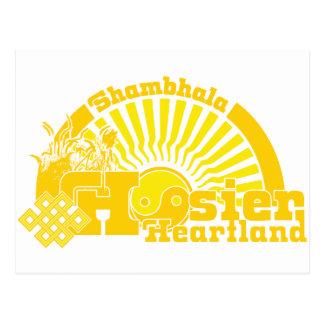 Carte Postale Centre de Shambhala Hoosier